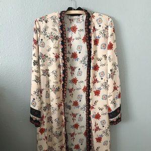 Chelsea & Violet kimono duster